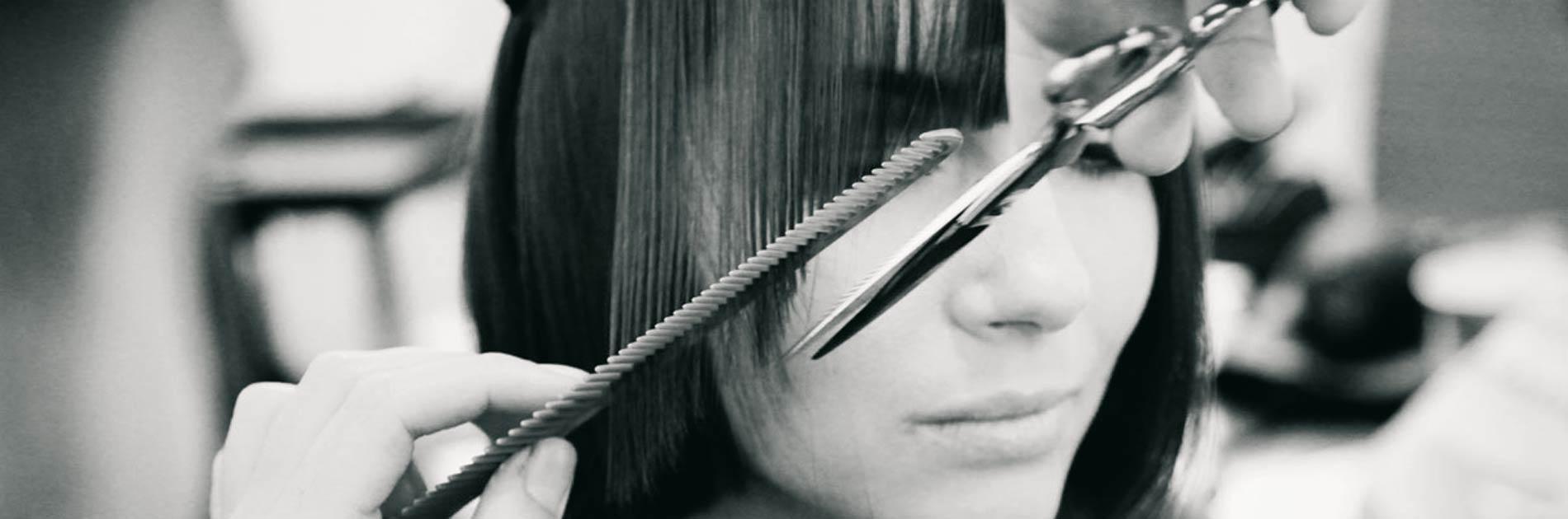 Haarschnitt im Friseursalon Birgit Gmeiner in Bad Ischl
