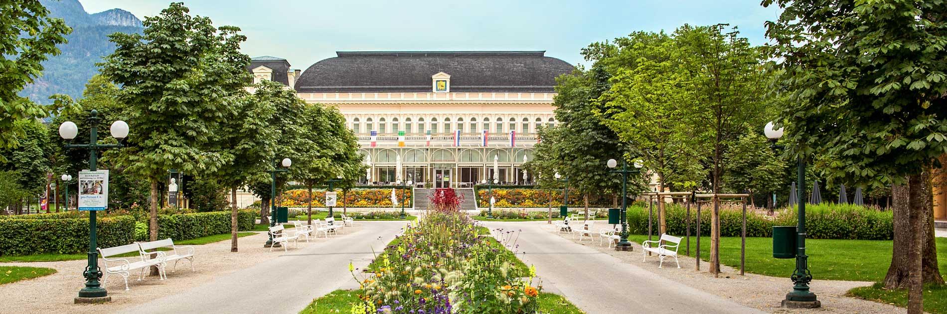 Kongress & Theaterhaus im Kurpark von Bad Ischl