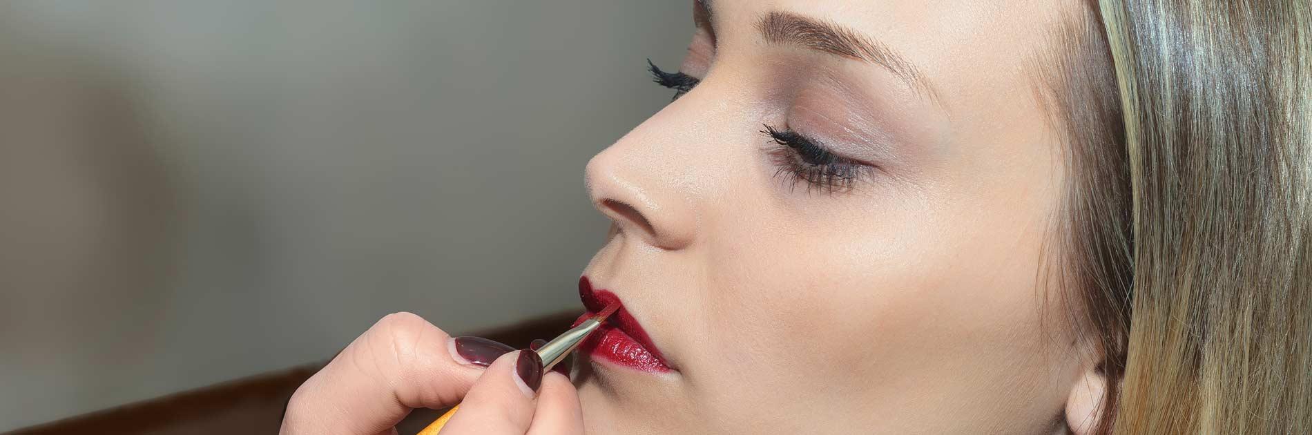 Lippen-Styling im Friseursalon Birgit Gmeiner