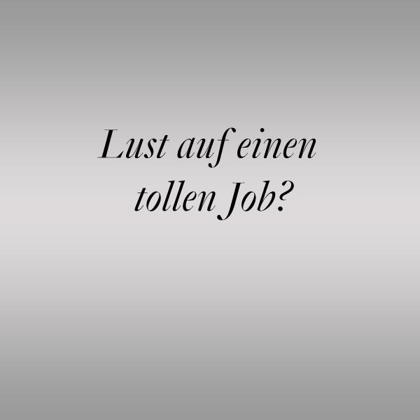 Lust auf einen tollen Job im Friseursalon Birgit Gmeiner?