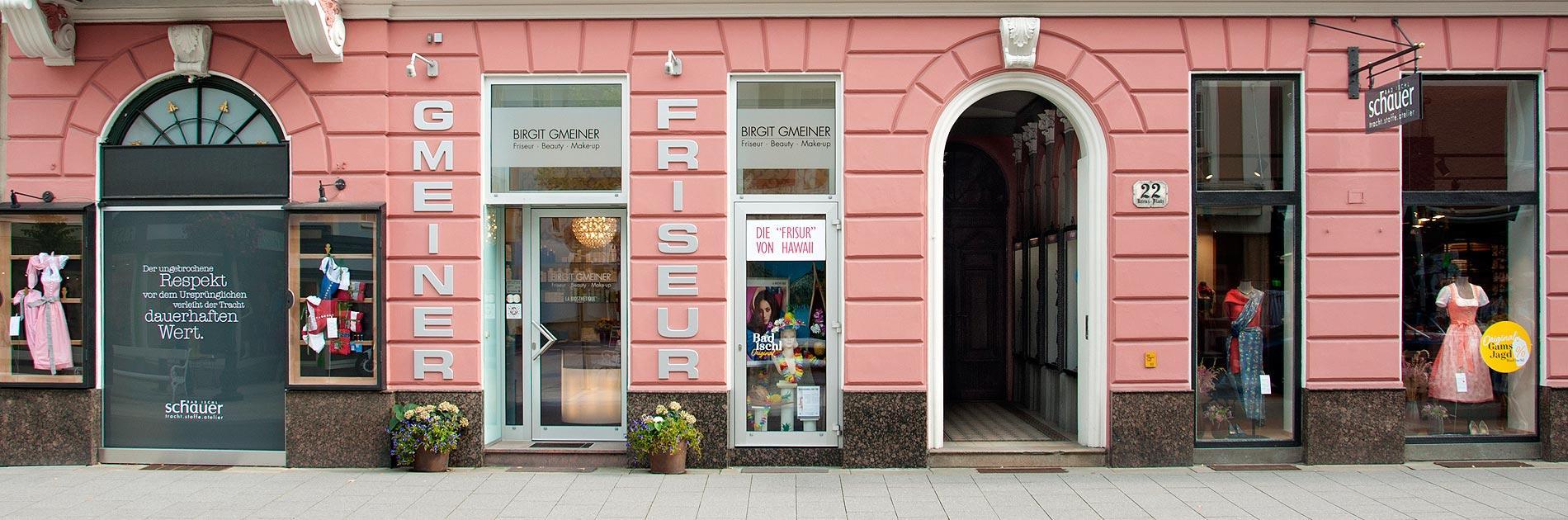 Friseur-Salon Gmeiner in Bad Ischl - Eingang