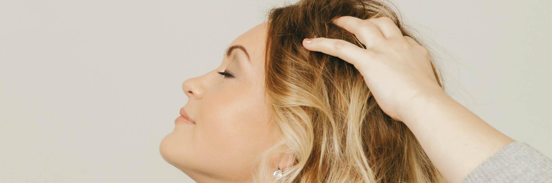 Wohlfühl Kopfmassage im Salon von Birgit Gmeiner
