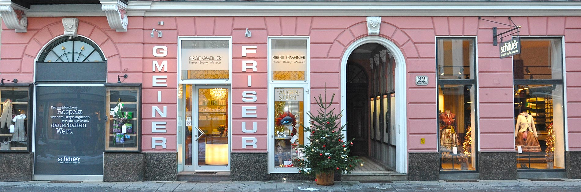 Fiseur-Salon Gmeiner in Bad Ischl - Eingang