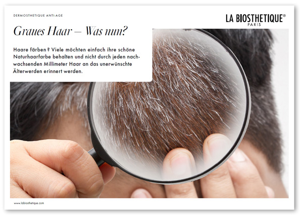 Blättermagazin Graues Haar - Was nun?