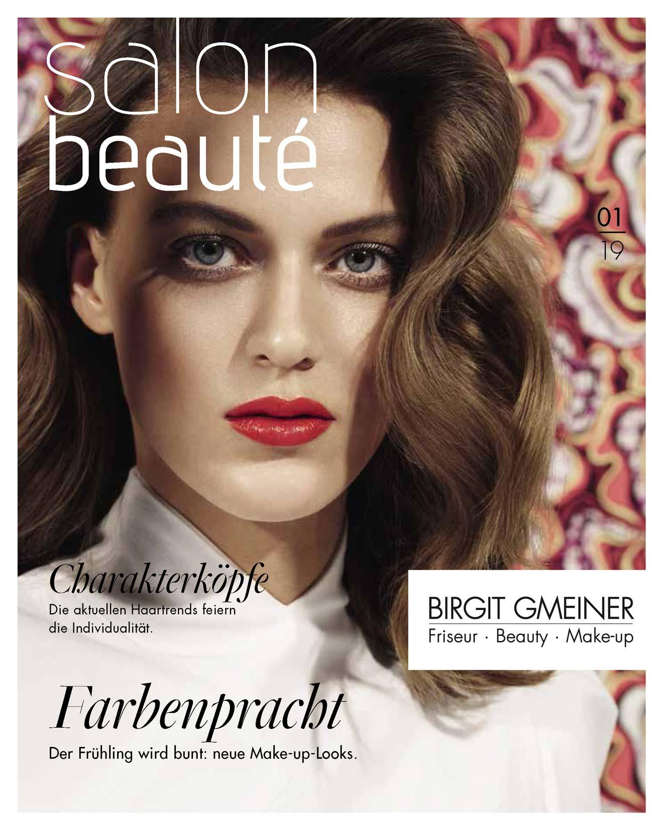 """Hier geht es zum Blättermagazin """"Salon Beaute 01 2019"""""""