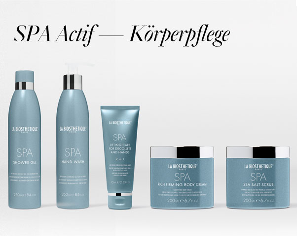 Beitragsbild SPA Actif - Körperpflege