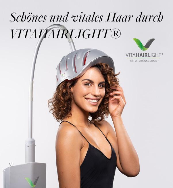 Schönes und vitales Haar durch VitaHairLight