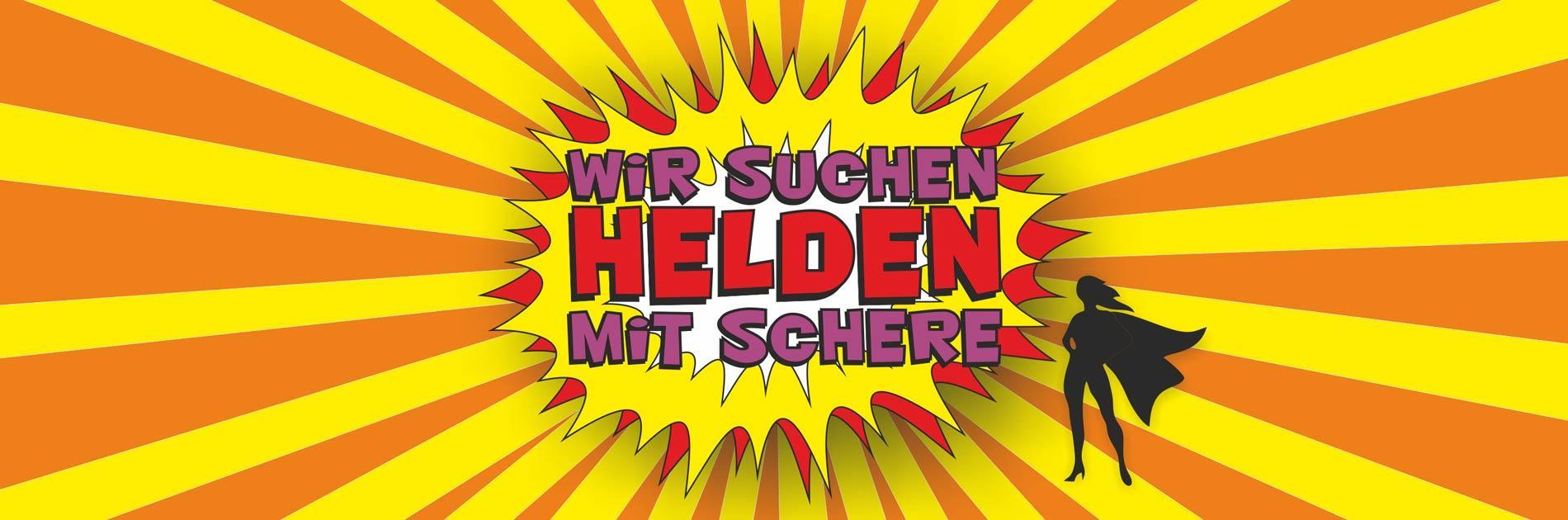 Wir suchen Helden mit Schere - Birgit Gmeiner in Bad Ischl