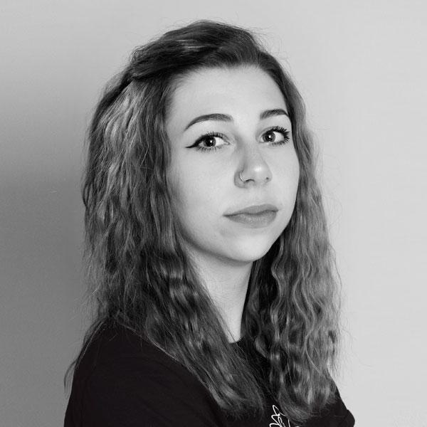 Hannah Miller-Auszubildende im Friseursalon Birgit Gmeiner
