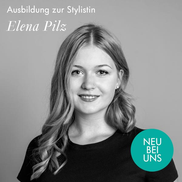 Elena Pilz-Auszubildende im Friseursalon Birgit Gmeiner in Bad Ischl